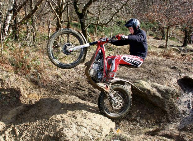 Gazette & Herald: Kirkbymoorside teenager Dan Peace, who won rounds in both the national and European youth trial biking championships