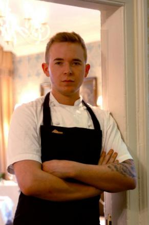 Talbot Hotel chef and food market star Jake Jones