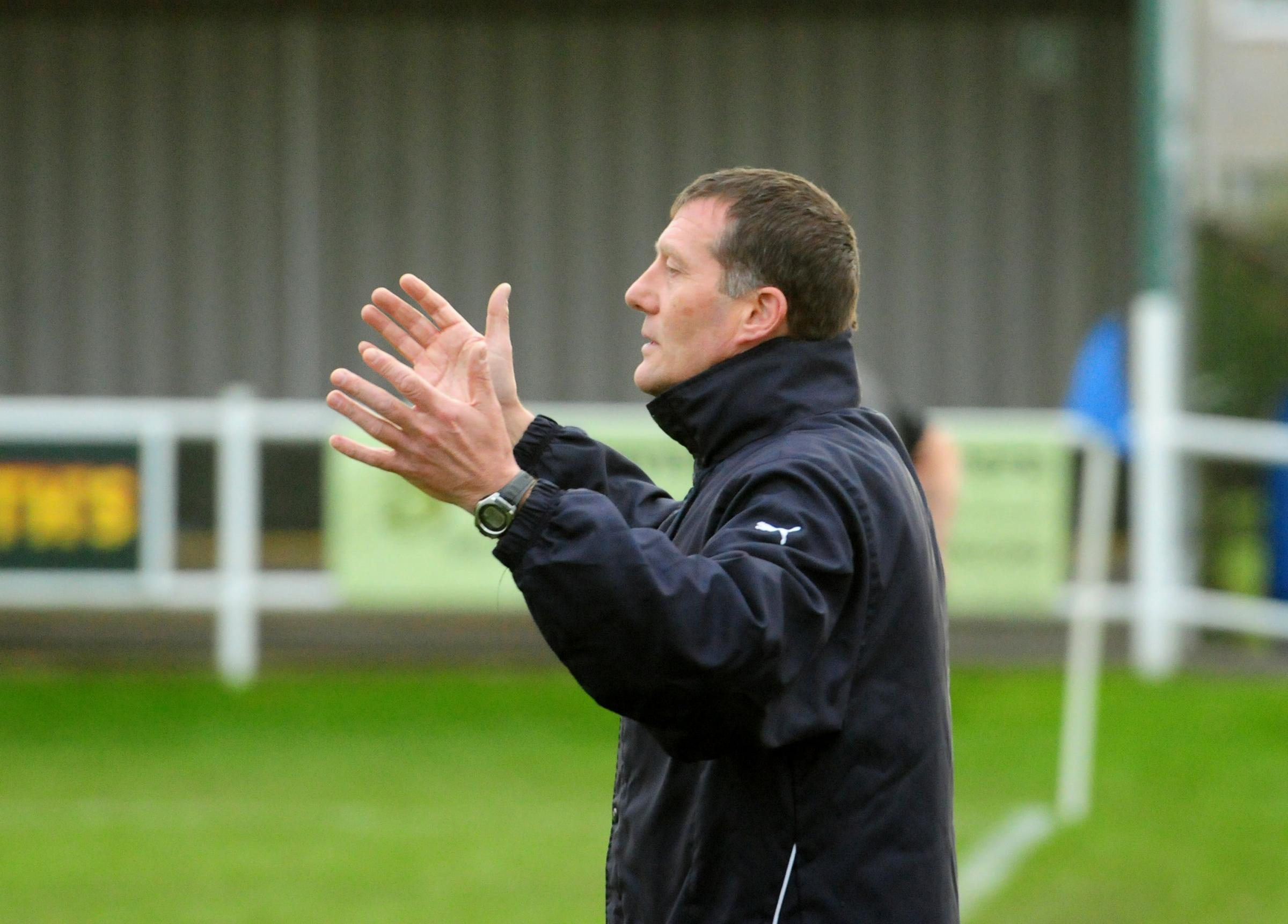 Pickering Town boss Mitch Cook