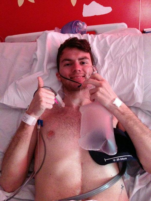 Gazette & Herald: Stephen Sutton, whose appeal has raised more than £3 million