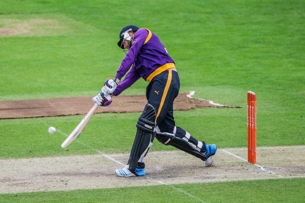 Yorkshire's Jonny Bairstow hit 24 in the opening NatWest t20 Blast fixture against Northamptonshire at Headingley