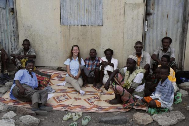 Sarah Jackson has set up a project to support farmers in Ethiopia
