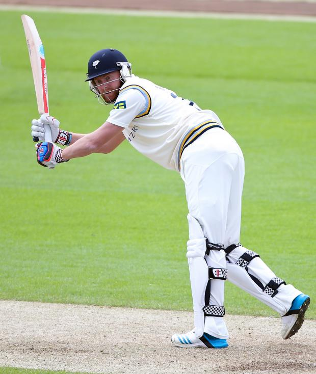 Gazette & Herald: Yorkshire's Jonny Bairstow hits out.