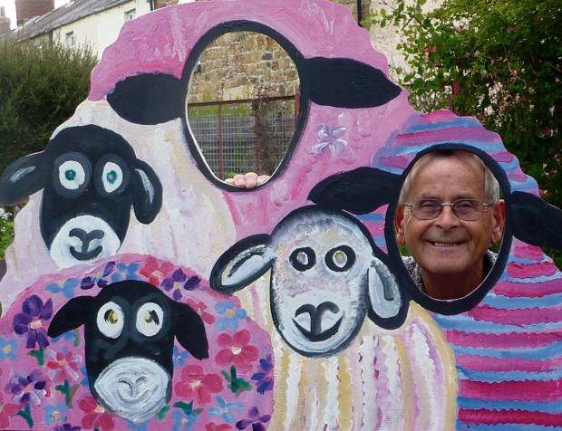 Visitors to the North York Moors may be forgiven for doing a double-take as a variety of pink sheep pop up in villages, shop windows and tourist attractions over the coming months.