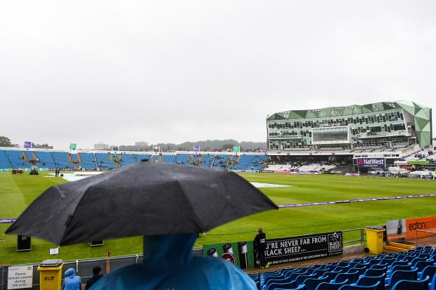 Rain washes out the NatWest T20 Blast fixture between Yorkshire and Lancashire at HeadingleyPicture: Alex Whitehead/SWpix.com