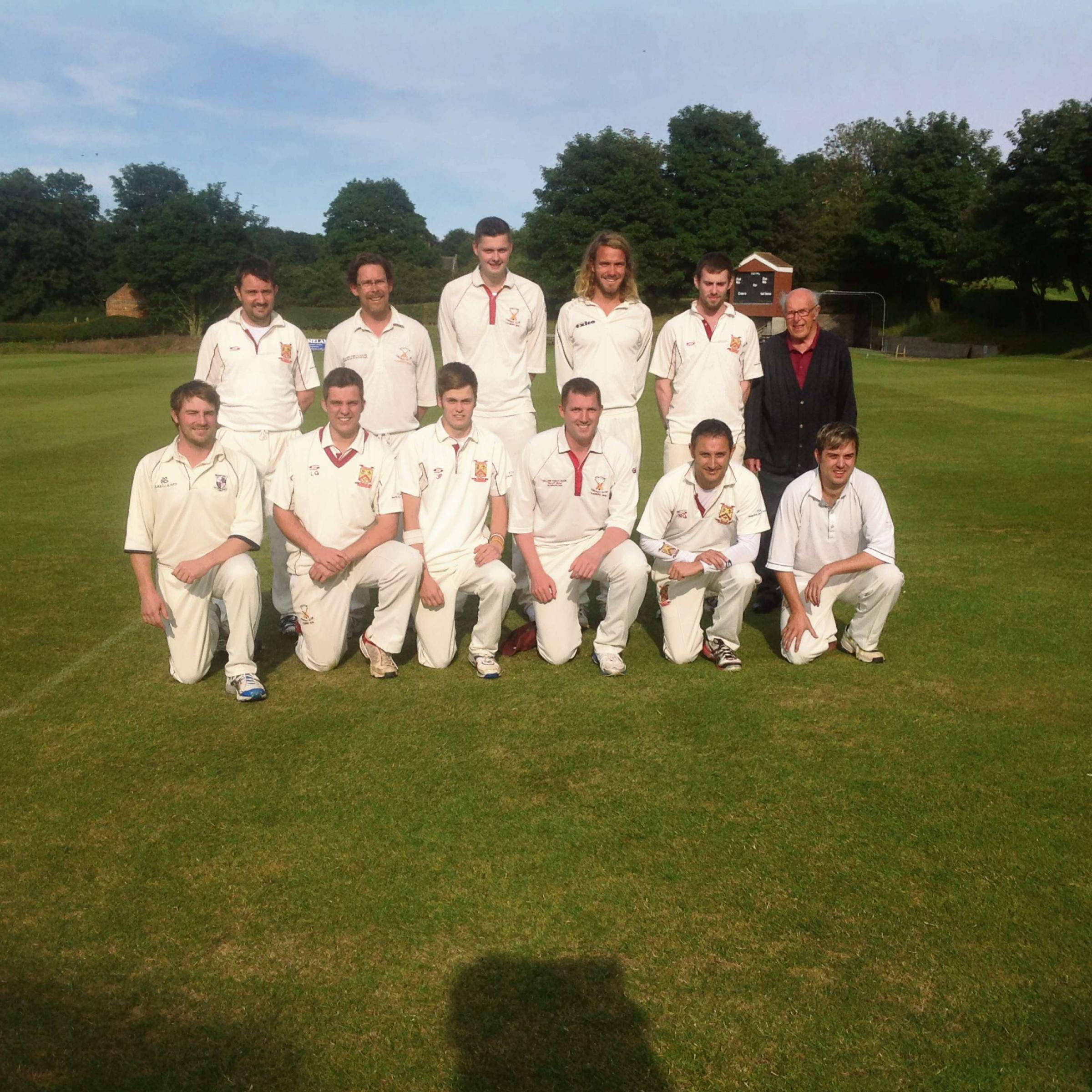 GREAT SEMI-FINAL: Staxton 'A', who reached the Harburn Cup final in thrilling fashion