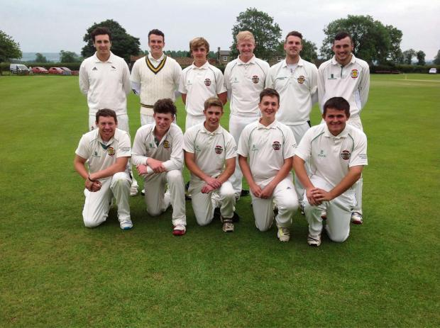 Gazette & Herald: TROPHY HOLDERS: Flixton, finalists again in the Andy Hire Harburn Cup