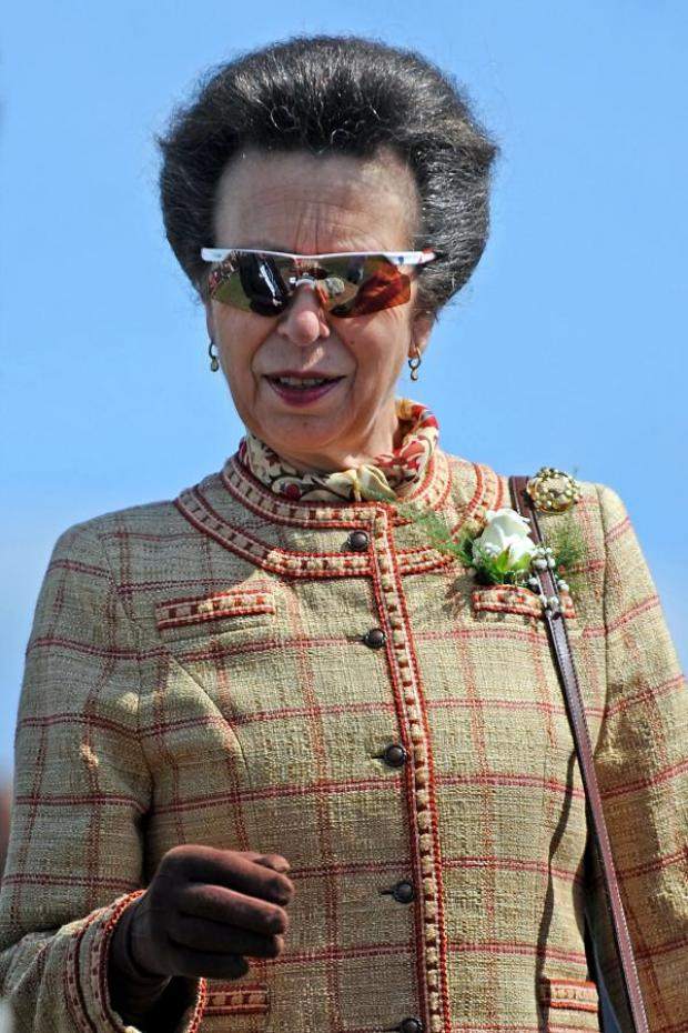 Gazette & Herald: The Princess Royal at the Great Yorkshire Show.
