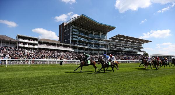 ONE, TWO, THREE?: Clever Cookie wins at York during May's Dante Festival. The horse is bidding for a hat-trick of Knavesmire victories in the John Smith's Cup