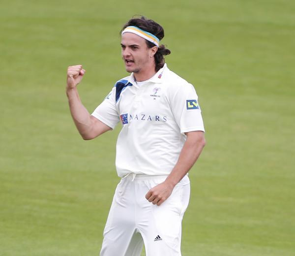 Four wickets for Jack Brooks, but Yorkshire were still unable to force victory over Durham at Headingley. Picture: Alex Whitehead/SWpix.com