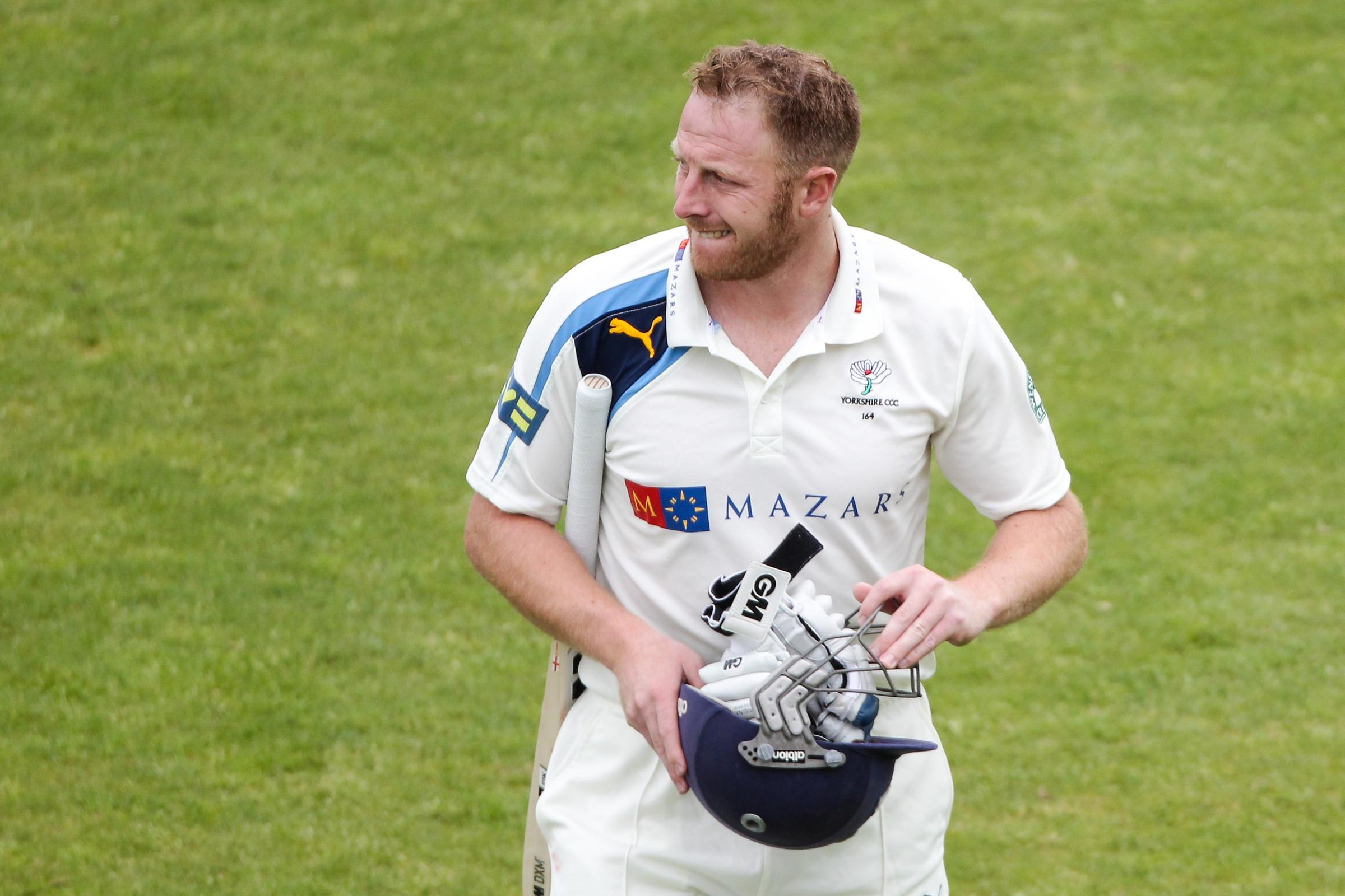 EYES ON THE PRIZES: Yorkshire skipper Andrew Gale has success in his sights for the White Rose ranks. Picture: Alex Whitehead/swix.com
