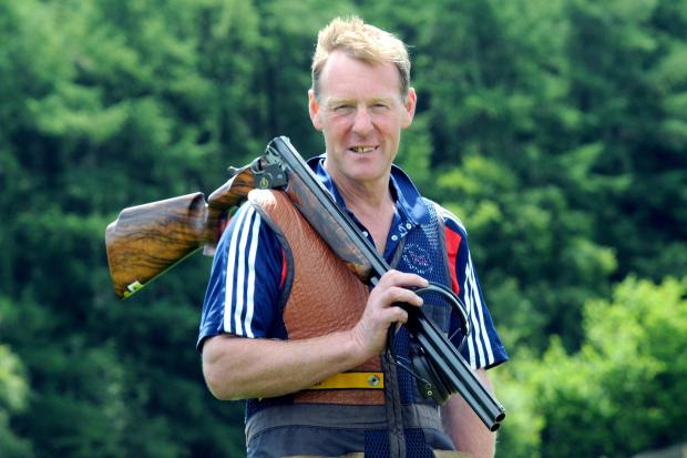 England's Commonwealth Games clay shooting coach John Robinson, who lives in Ebberston                                                                                                        Picture: Mike Tipping