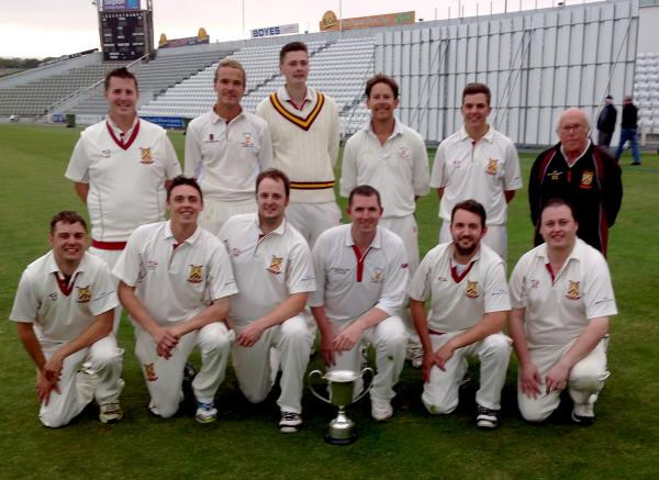 Staxton CC, who lifted the Harburn Cup at North Marine Road