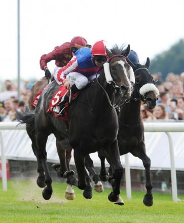 Mutual Regard wins the Betfred Ebor on Knavesmire