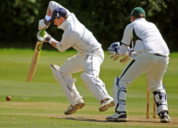 Acomb batsman Andy Tute was in fluent form in smiting Selby