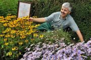 Gardener David Barker, of Middlethorpe Hall, which has won a gold award in the Yorkshire In Bloom competition