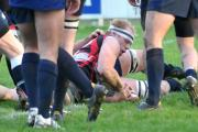 Malton & Norton captain Sam Triffitt was outstanding against Hullensians, scoring a try in his side's 22-12 win