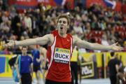 Richard Buck, who ran the anchor leg as Great Britain's 4x400 metres relay team won gold at the Sainsbury's international match on Saturday