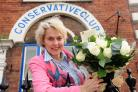 Anne McIntosh MP, pictured at Pickering Conservative Club after her announcement that she was not standing as an MP