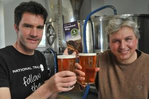 Thirsty trail walkers get their own beer