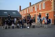 Riding teams at Warwickshire for the Riding Schools Championships