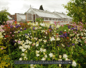 Gazette & Herald: Gazette calendar Helmsley Walled Garden