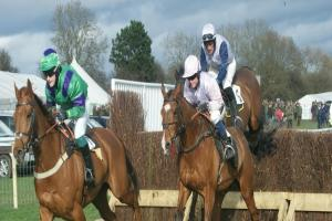 Male and female point-to-point jockeys to go head to head in battle for title