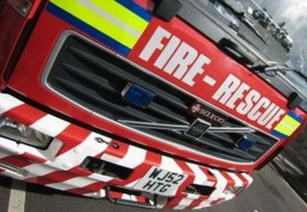 Motorbike catches fire near Rievaulx