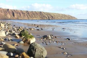 A glorious ten-mile stroll on the sands at Filey Bay