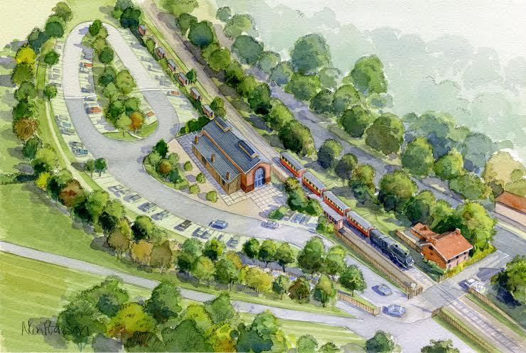 An artist's impression of Pickering Trout Lake redevelopment