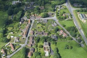 An aerial view of West Heslerton, which has now sold after being put on the mark for £20 million      Picture: Cundalls /PA Wire