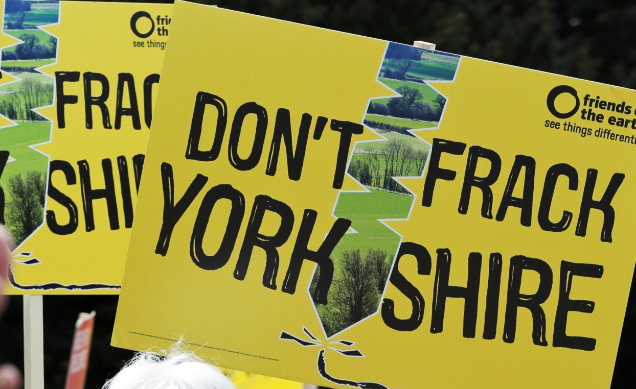 Legal challenge tabled against Yorkshire fracking go-ahead