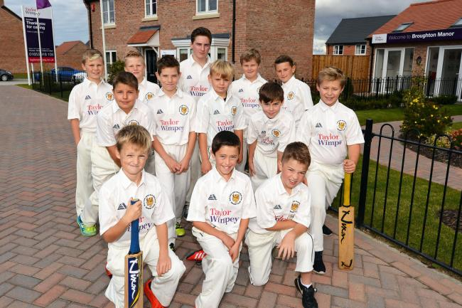 CASH BOOST: Malton's junior division will be sponsored by Taylor Wimpey North Yorkshire next season