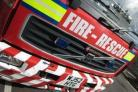 Fire services called to two incidents in two minutes