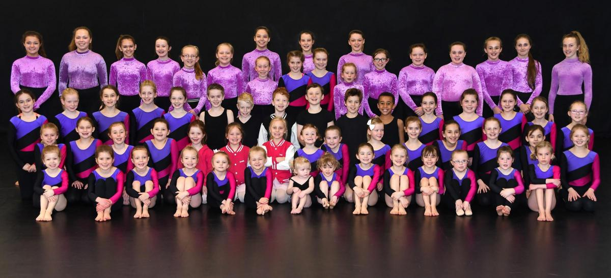 Gymnasts At Dance Expression School Of Dance In Norton Launch