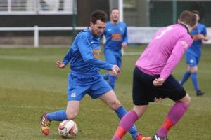 FIT AGAIN: Pickering Town striker Ged Dalton should be available this weekend. Picture: Richard Doughty Photography