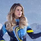 Gazette & Herald: Vogue Williams still on the mend following knee injury received on The Jump