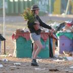 Gazette & Herald: Glastonbury clean-up begins as revellers head home