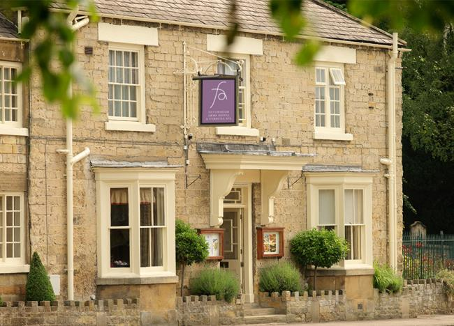 Burnside admitted making off without paying a £2,320 bill at the Feversham Arms in Helmsley, pictured.
