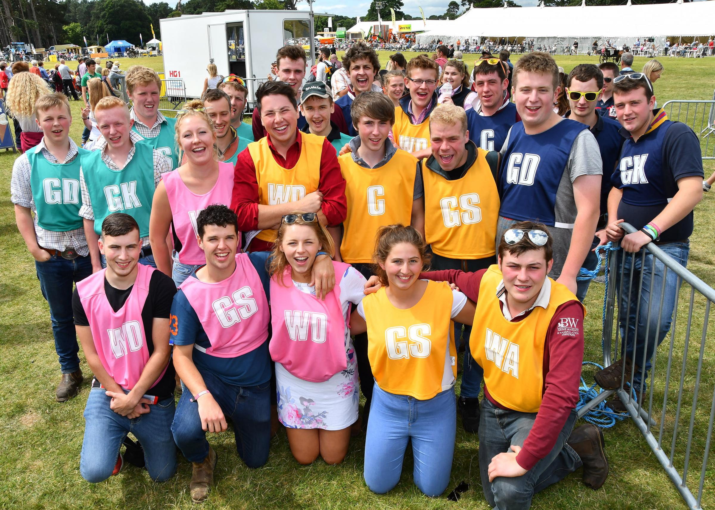 Members of Ryedale's young farmers clubs (YFC) competed in a series of games from welly-waning to bale tossing