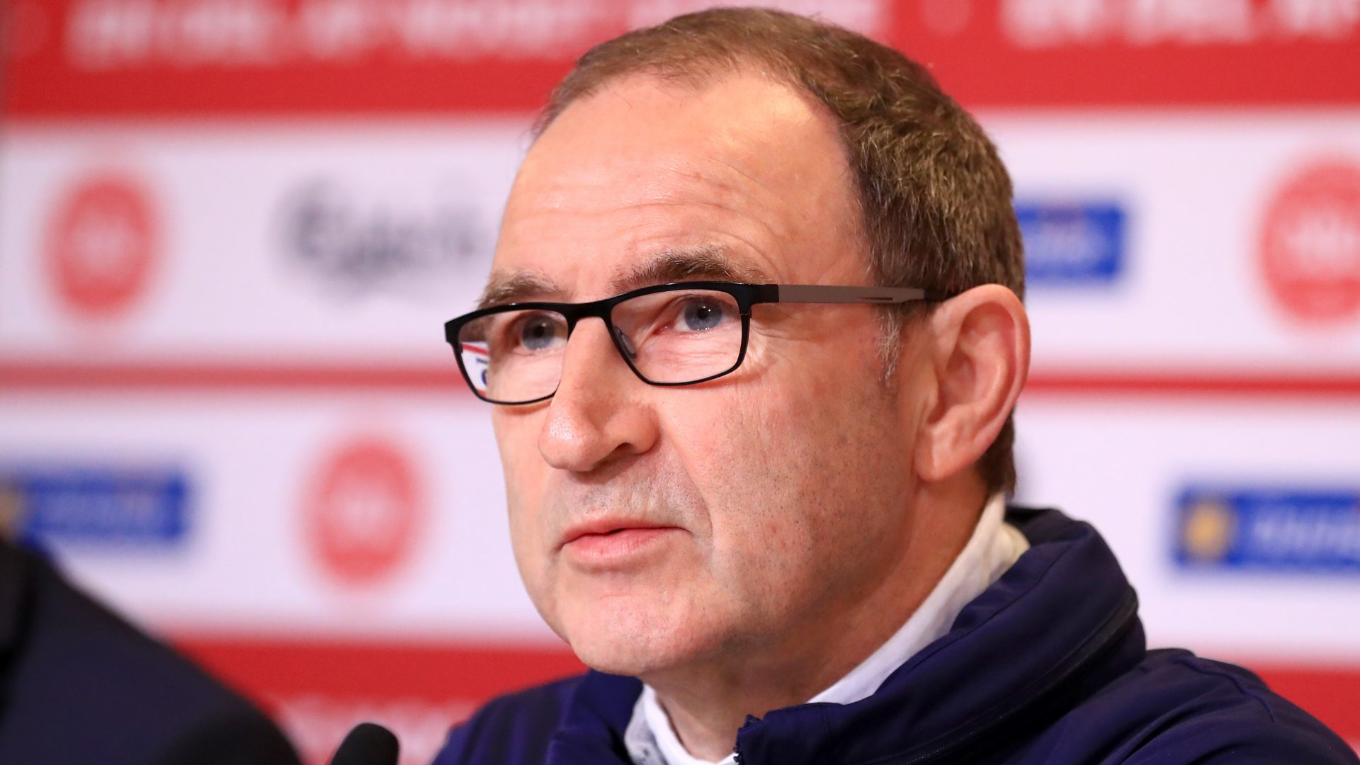 Martin O'Neill is aiming to lead his side to Russia