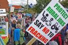 A war of words has erupted over the anti-fracking protection camp at Kirby Misperton