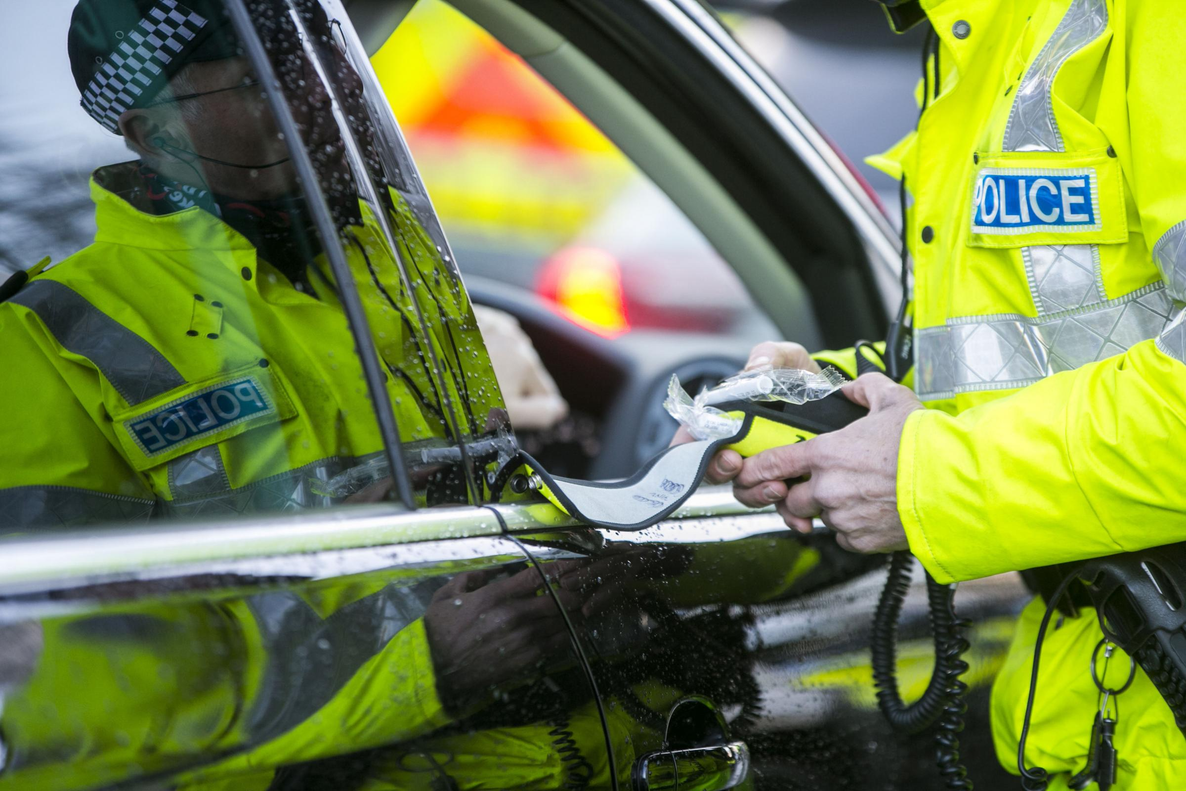Police have launched a crackdown on drink and drug driving over the festive period      Picture: Liam McBurney/PA Wire