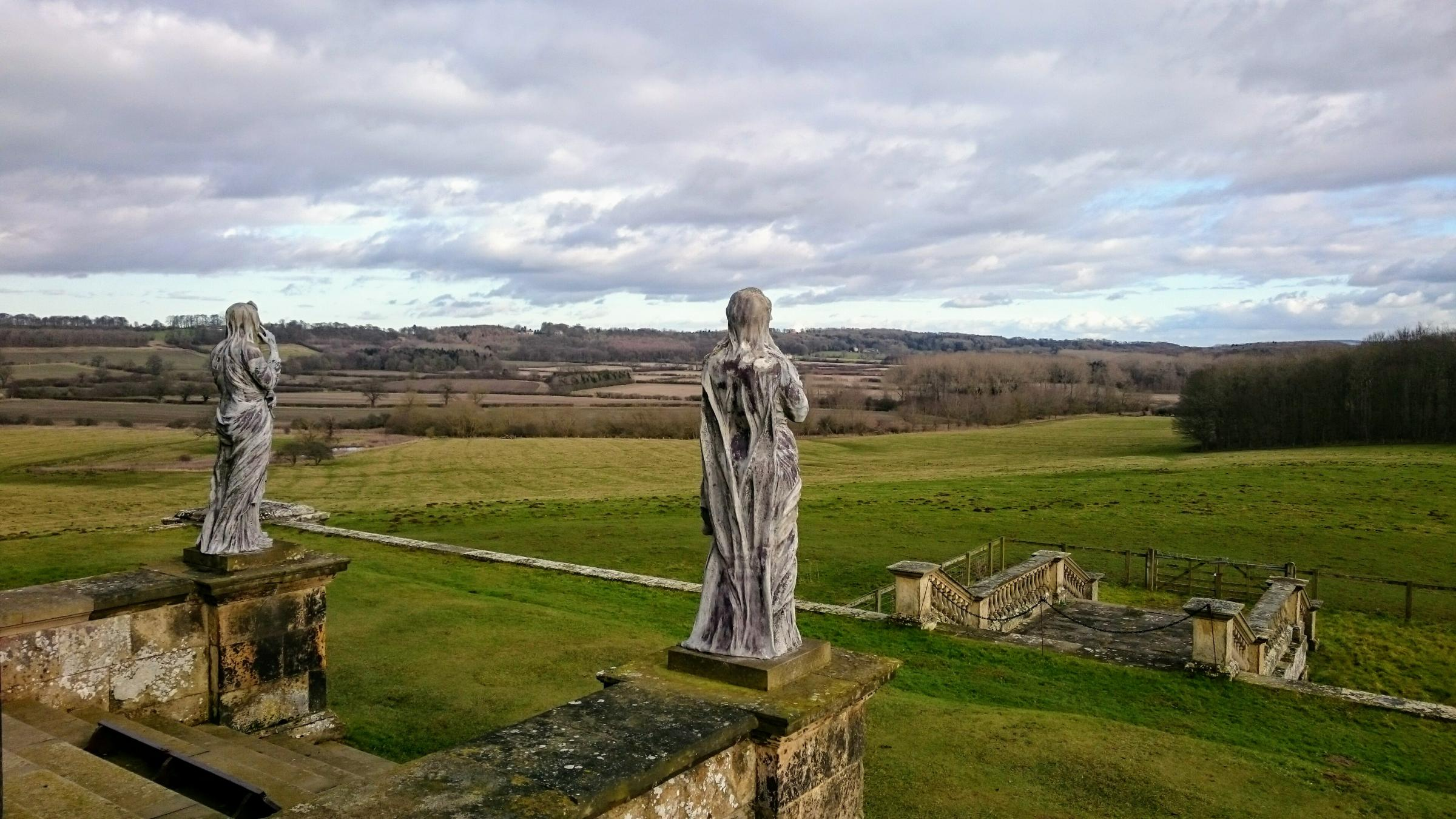 Taking time to take in the view at Castle Howard by Pete Lamb
