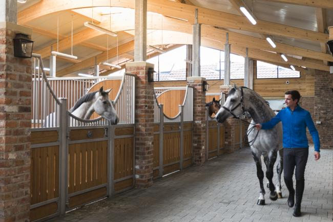Gornall Equestrian – home to international showjumper Jamie Gornall – is throwing open its doors to the public for a behind-the-scenes look at its training facility Picture: Gornall Equestrian
