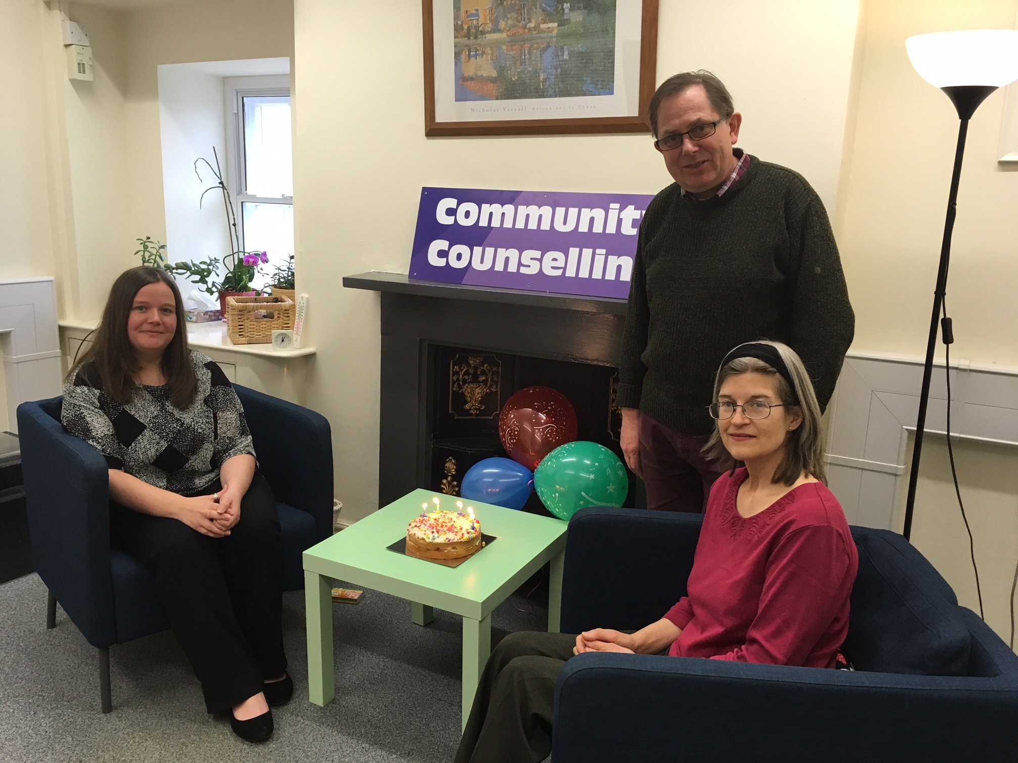 Community Counselling, which is also celebrating its fifth anniversary this month, ans is now launching a young carers service to provide free counselling for children and young people between the ages of eight and 18 who are caring for loved ones in the