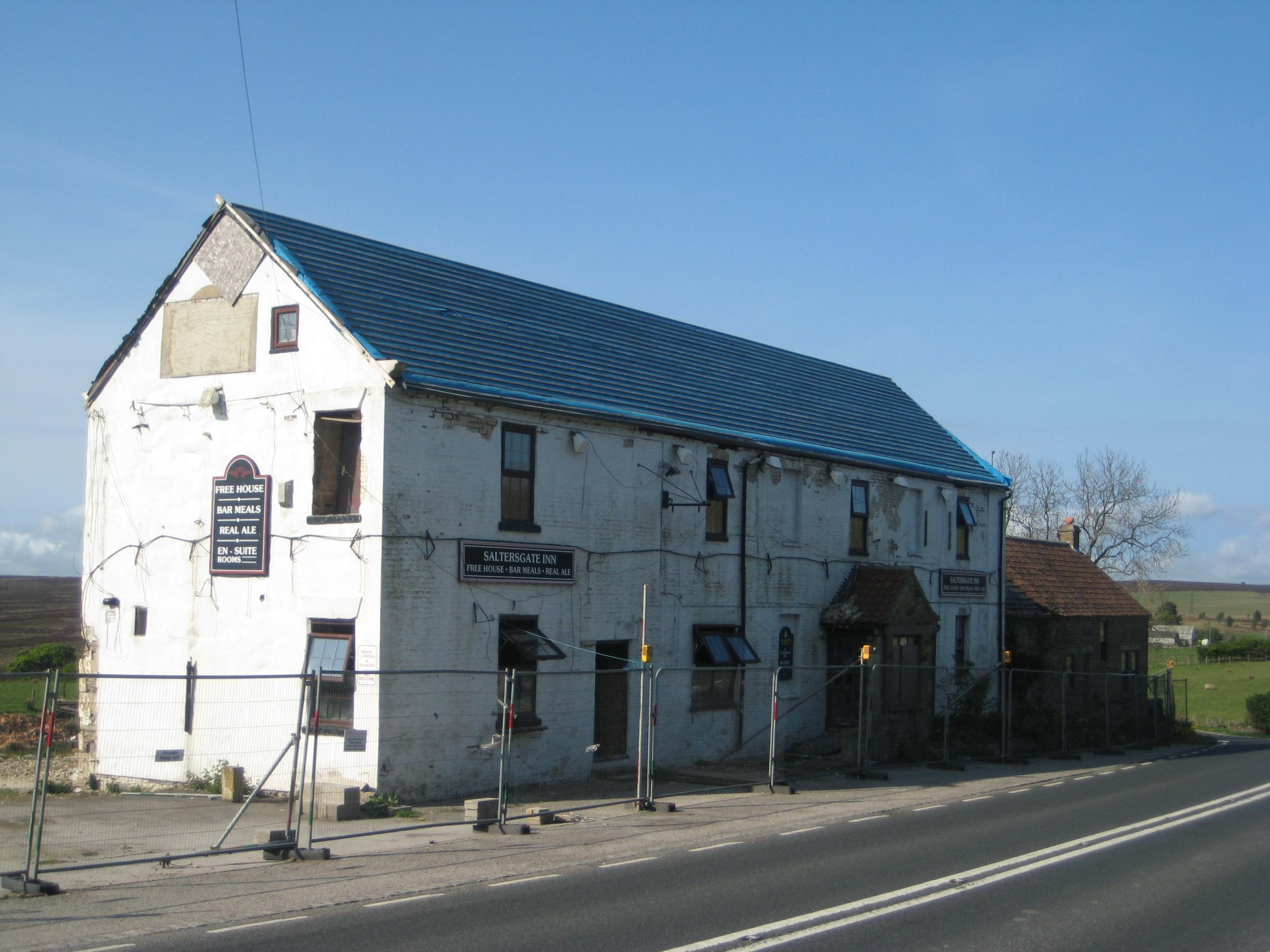 The Saltersgate Inn, pictured in 2011.