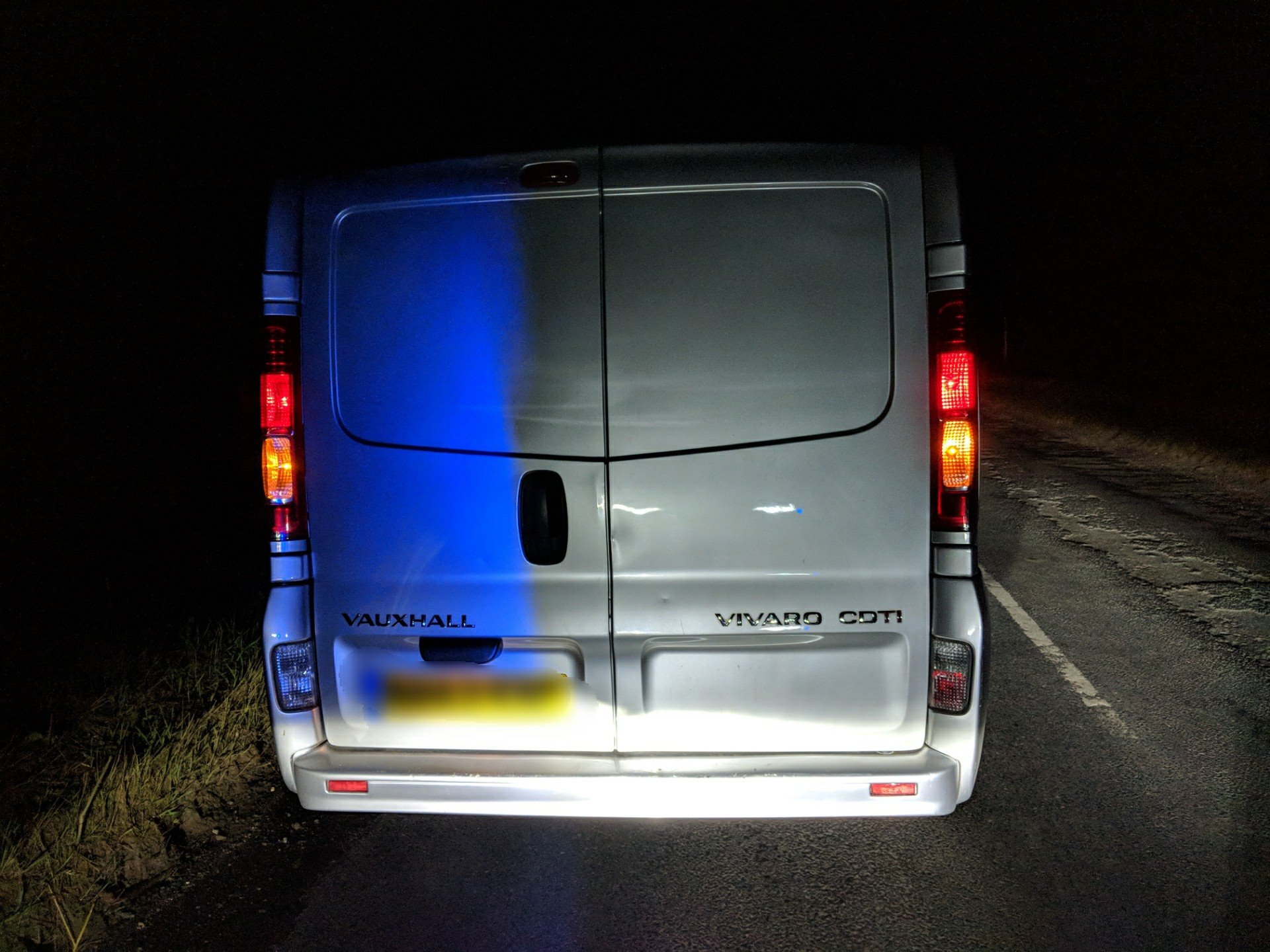 Van stopped for doing twice the speed limit. Picture North Yorkshire Police