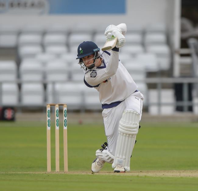 Yorkshire's Tom Kohler-Cadmore scored 165 not out on day one against Warwickshire
