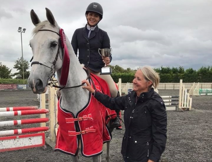 Port Royal Show Jumper of the Year 2018 Stephanie Marshall on Maserati Van De Zuurhaege, winner of the senior SOTY                                                                   Picture: Port Royal Facebook